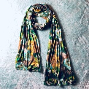 Old Navy | Soft Watercolor Floral Printed Scarf